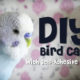 DIY Bird Cage using Self Adhesive Wallpaper